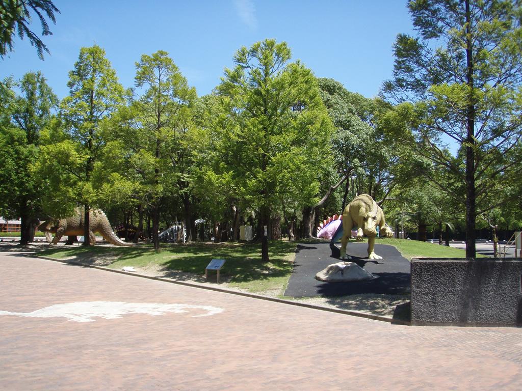 豊橋総合動植物公園 のんほいパーク「恐竜エリア。」